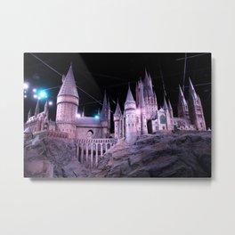 Hogwarts Metal Print