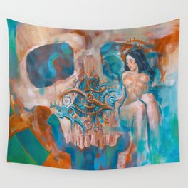 Death and the Maiden Wall Tapestry
