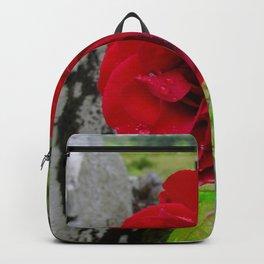She, a Rose Backpack