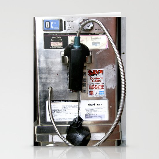 Pay Phone VIII Stationery Cards