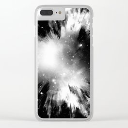 The World Begins Clear iPhone Case