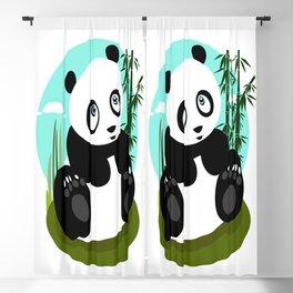 Baby Panda Blackout Curtain