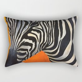 Zebra Stripes Rectangular Pillow