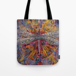 Mandala Dragon Tote Bag