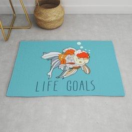 Life Goals Rug