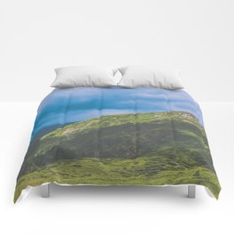 Nature enviroment Hill landscape Comforters