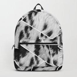 Animal Fur Black & White Geometric Glam #1 #geo #decor #art #society6 Backpack
