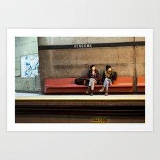 Vendome GIrls Art Print