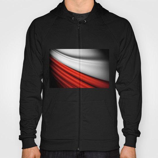 flag of Poland Hoody