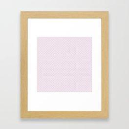 Plum Flower Pattern Framed Art Print