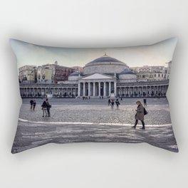 Piazza del Plebiscito, Napoli, Italy Rectangular Pillow