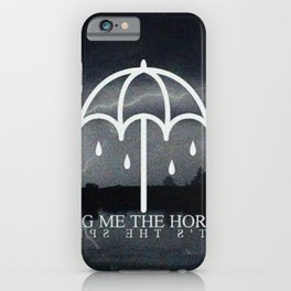 Bring Me poster iPhone Case