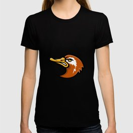 Laysan Duck Head Mascot T-shirt