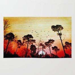 Romantic sunset Rug