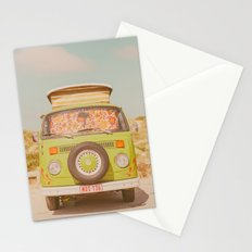 let's ride through europe Stationery Cards