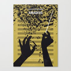 No725 My Amadeus minimal movie poster Canvas Print