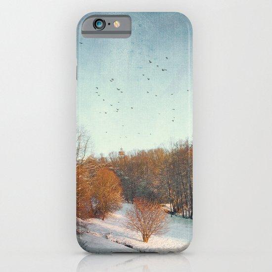 Trees in Winter II iPhone & iPod Case