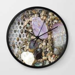 Freshly Bathed Wall Clock