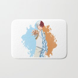 My Hero Academia Minimalist (Todoroki) Bath Mat