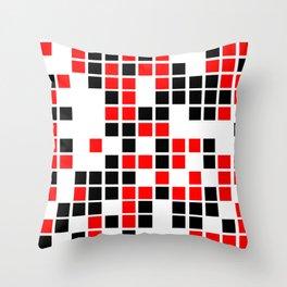 Squares #01 Throw Pillow