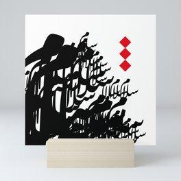 Arabic Calligraphy Peace  Mini Art Print