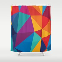 brain Shower Curtains featuring Brain by Sobhani