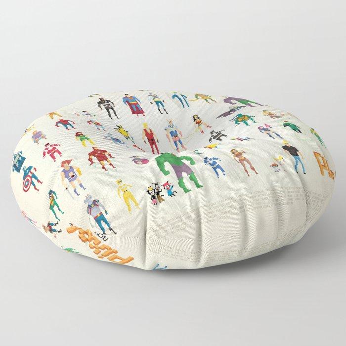Pixel Nostalgia Floor Pillow