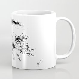 Rose Petals in Her Eyes Coffee Mug