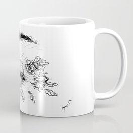 Rose Petals in Her Eyes Coffee Mug