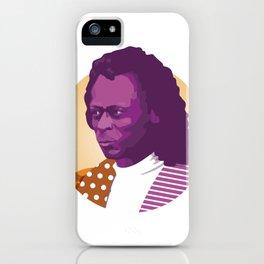 Jazz legend iPhone Case