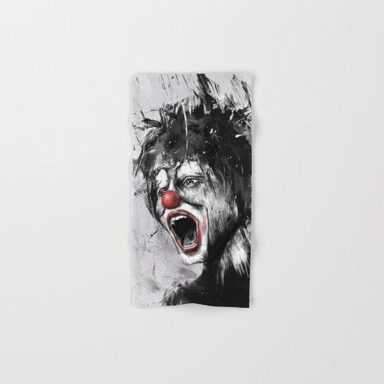 The clown Hand & Bath Towel