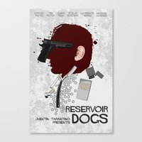 reservoir dogs Canvas Prints featuring Reservoir Dogs  by edgarascensao
