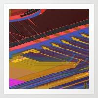 data Art Prints featuring Data Path by dBranes