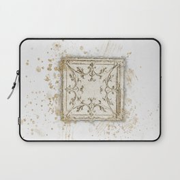Vintage Tin Sketch Laptop Sleeve