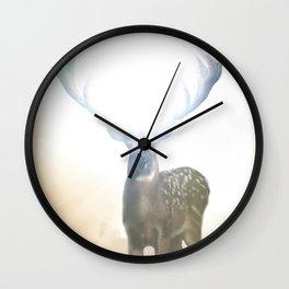 Bright Deer Wall Clock