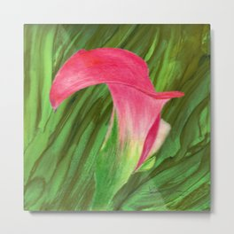 Pink Cala Lilly Metal Print