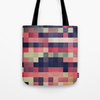quilt Tote Bags featuring quilt n2 by spinL