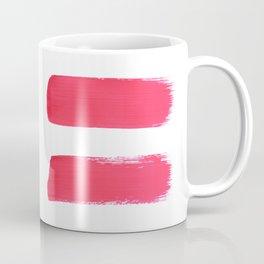 One human kind - Pink Equality Coffee Mug
