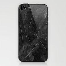Feathered (Black). iPhone & iPod Skin