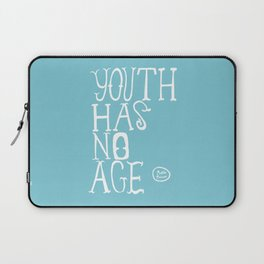 Youth Has No Age (Blue) Laptop Sleeve