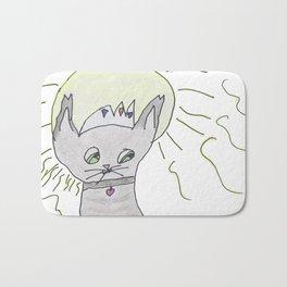 The Royal Kitty! Bath Mat