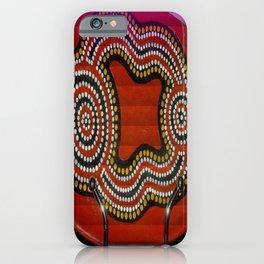 Aboriginal Art iPhone Case