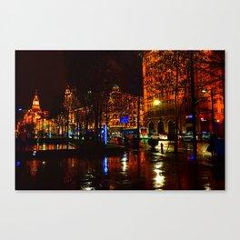 Shanghai 五 Canvas Print