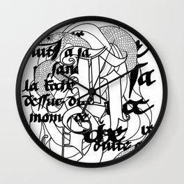 The Serpent Wall Clock