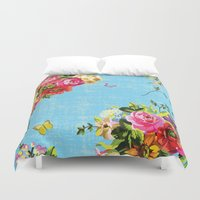 perfume Duvet Covers featuring Sweet Perfume by MY  HOME