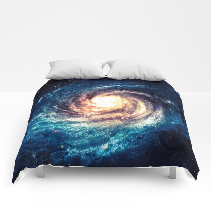 Spiral Galaxy Comforters