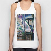 architecture Tank Tops featuring Architecture by Paris Martin