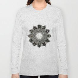 Astrology Signs Mandala Long Sleeve T-shirt