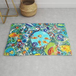 Fish Party Rug