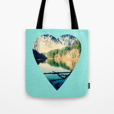Lost Lake Love Tote Bag